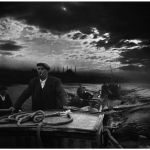 Kumkapi fishermen returning to port in the first light of dawn- 1950